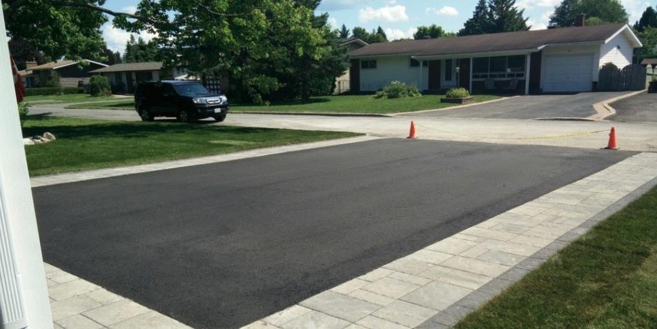 Interlock driveway extension